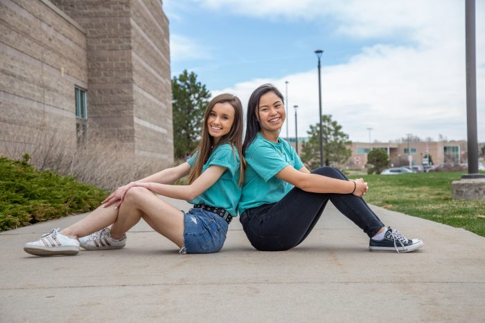 Melanie Zhou and Mia Hayden