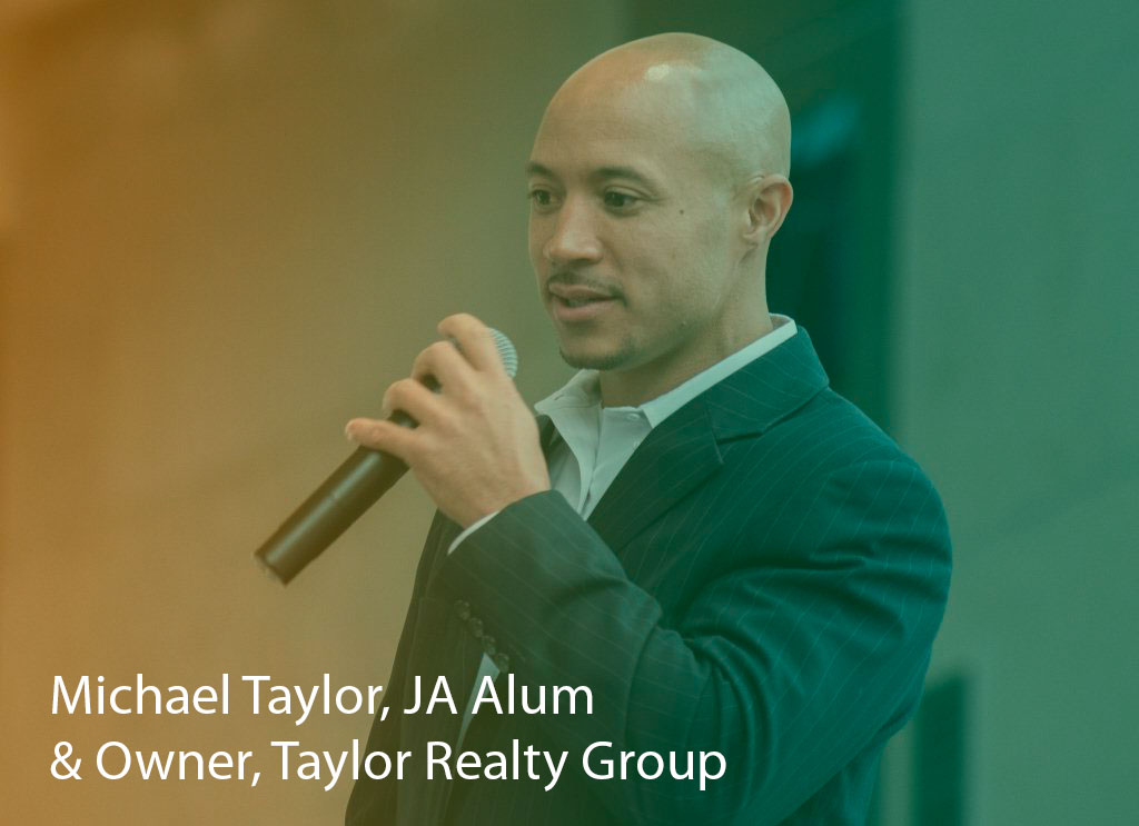 Mike Taylor, JA alum and Owner, Taylor Realty Group