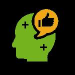 optimistic head icon